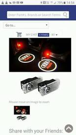 Audi ghost shadow door lights £10