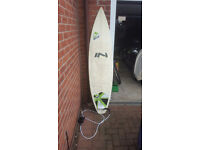 "Surfboard 6ft 2"" £60"