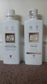 Autoglym extra gloss protection plus super resin polish