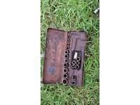 Vintage heyco socket set no ratchet