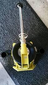 Whale gusher 10 , marine boat pump .