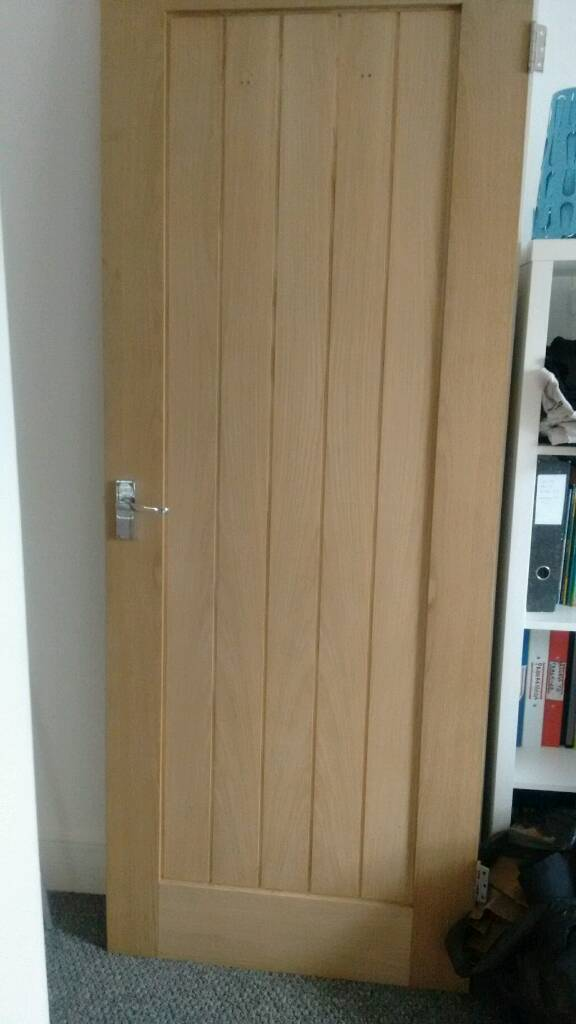 Interior wooden doorin Bournemouth, DorsetGumtree - Interior wooden door, beech effect I think .Couple of tiny holes where we had hooks. See pic. Apart from that ok