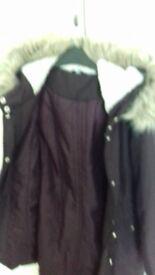 Ladies parka coat
