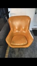 1960's vintage swivel chair