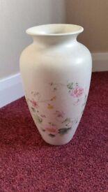 Poole pottery cream vase