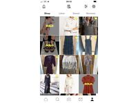 Women's clothes Zara and Topshop 14 16