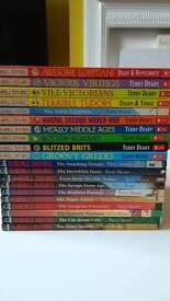 20 Horrible Histories Books Collection