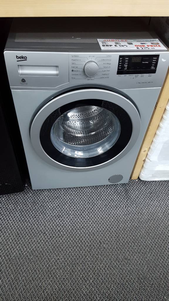 New graded Beko 7kg washing machine with 12 months guarantee