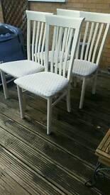 Hi gloss chairs
