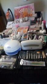 Complete setup acrylic &gel nails