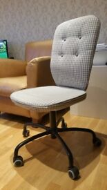 IKEA LILLHOJDEN Office Swivel Chair , Only 1 year old - GREAT CONDITION