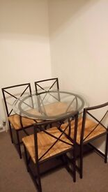 IKEA Granas round dining room set £50. Collection only