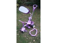 Little Tikes tricycle purple