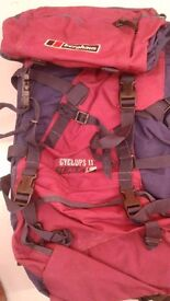 Berghaus Cyclops 2 Electra - Red and Blue Very Good Condition for sale