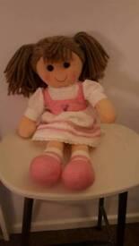 Girls rag doll