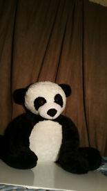 TEDDY PANDA (FLEECE) LARGE. EXCELLENT CONDITION.