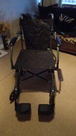Transit Wheelchair - Price Reduced - BARGAIN