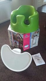 Bumbo Baby seat. Feeding Chair with Tray