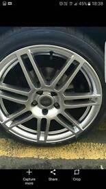 Audi rs4 alloys wheels