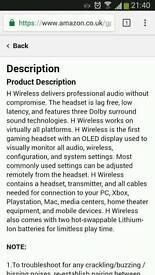 Premium steelseries 7.1 headset**RRP £300**