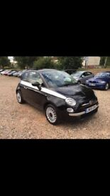 2009 Fiat 500 Automatic full leather 1.2 Lounge