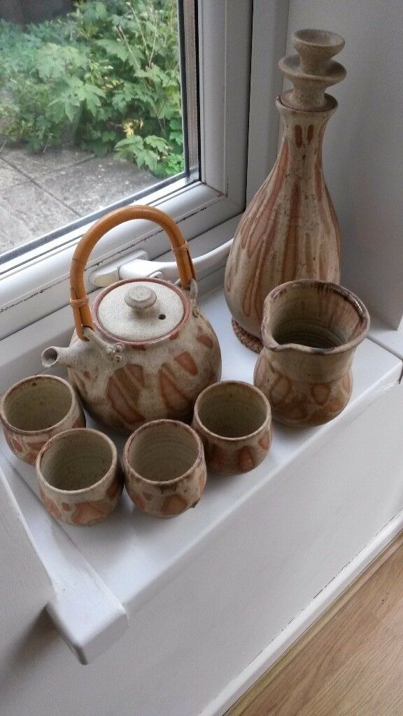 Unique Decorative Pottery Set - REDUCED !!!
