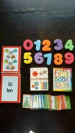 Learning numbers for little ones