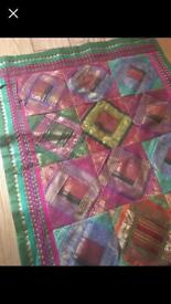 Beautiful Indian wall hanging / table runner