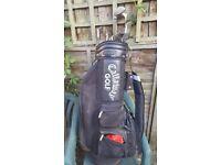 GOLF SET Odyssey Deepface Rossie 2 plus Lynx Golf clubs plus Callaway Bag.