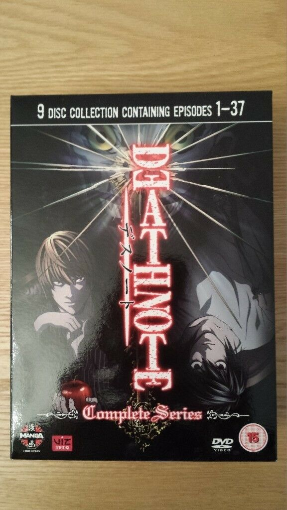 Death Note - The Complete Series Anime DVD