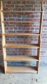 Tall Wood Bookcase