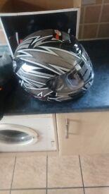 Roxter RBDBM Motorcycle Helmet - Medium - Collect Only