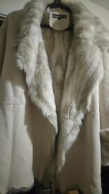 Sheep skin coat for women