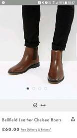 Mens Brown Bellfield Chelsea Boots