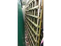 Timber Square Trellis Panel (H)1830mm (W)900mm
