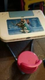 Disney frozen foldable desk
