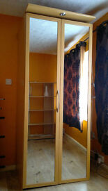 WARDROBE High quality sliding door with double mirrows