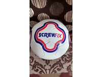 FOOTBALL SCREWFIX PROMTIONAL FOOTBALL BRAND NEW INFLATED & READY TO USE