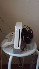 Nintendo wii(white) with 12 games