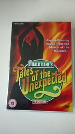 tales of the unexpected ten disc boxset,over 50 episodes,never watched,immaculate condition