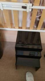 Black gloss nest of tables