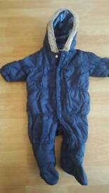 Next baby up to 3 months snow suit