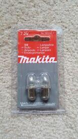 Makita 192242-1, 7.2V Light Bulb pack (2)