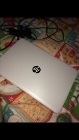 White hp laptop basically brand new