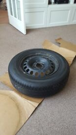 Wheel and Tyre 185/70R14