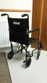 Wheelchair nearly new