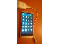 HTC One M9 - 32GB - Gold on Silver Smartphone UNLOCK TO ALL NETWORK. MINT CONDITION!