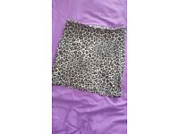 Animal print body con mini skirt size 10