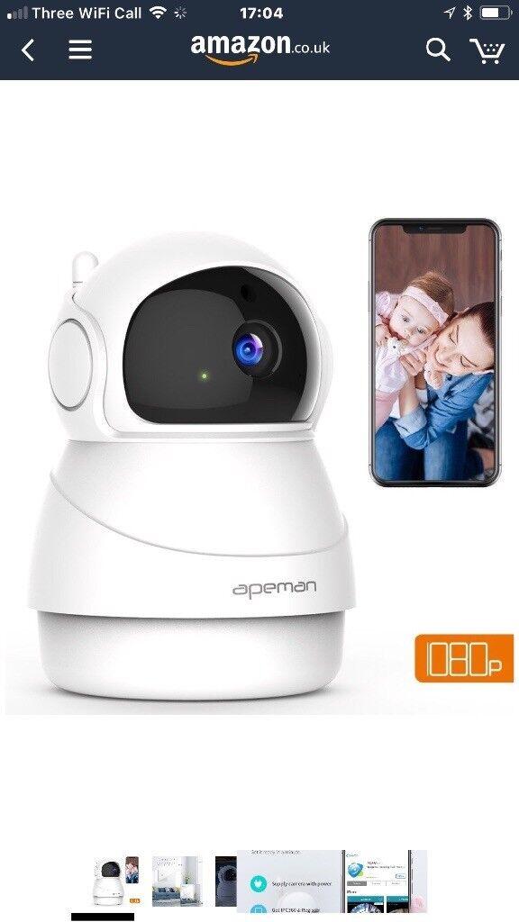 Wireless Surveillance IP Camera 1080P Wi-Fi Home Security Camera