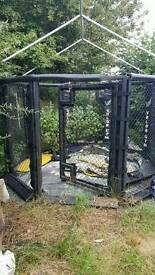 10ft MMA Fighting Cage (cage fighting)